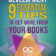"""image of book cover - """"Personal Development: 9 Essential Tips To Get More From Your Books"""""""